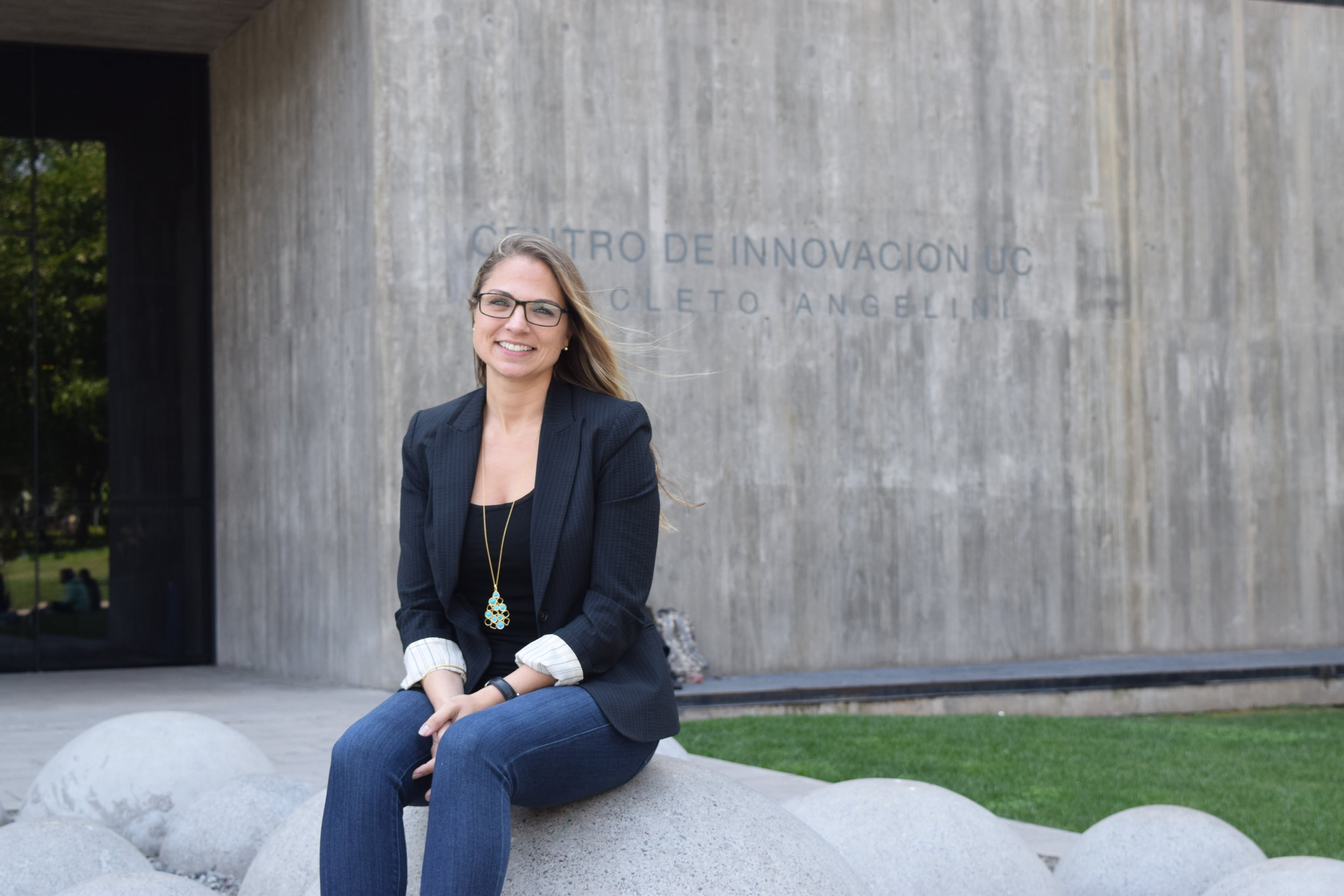 Jen at the Centro de Innovacion, where she was the Opening Keynote Speaker at the IteraXion Conference, Santiago Chile. 2017.