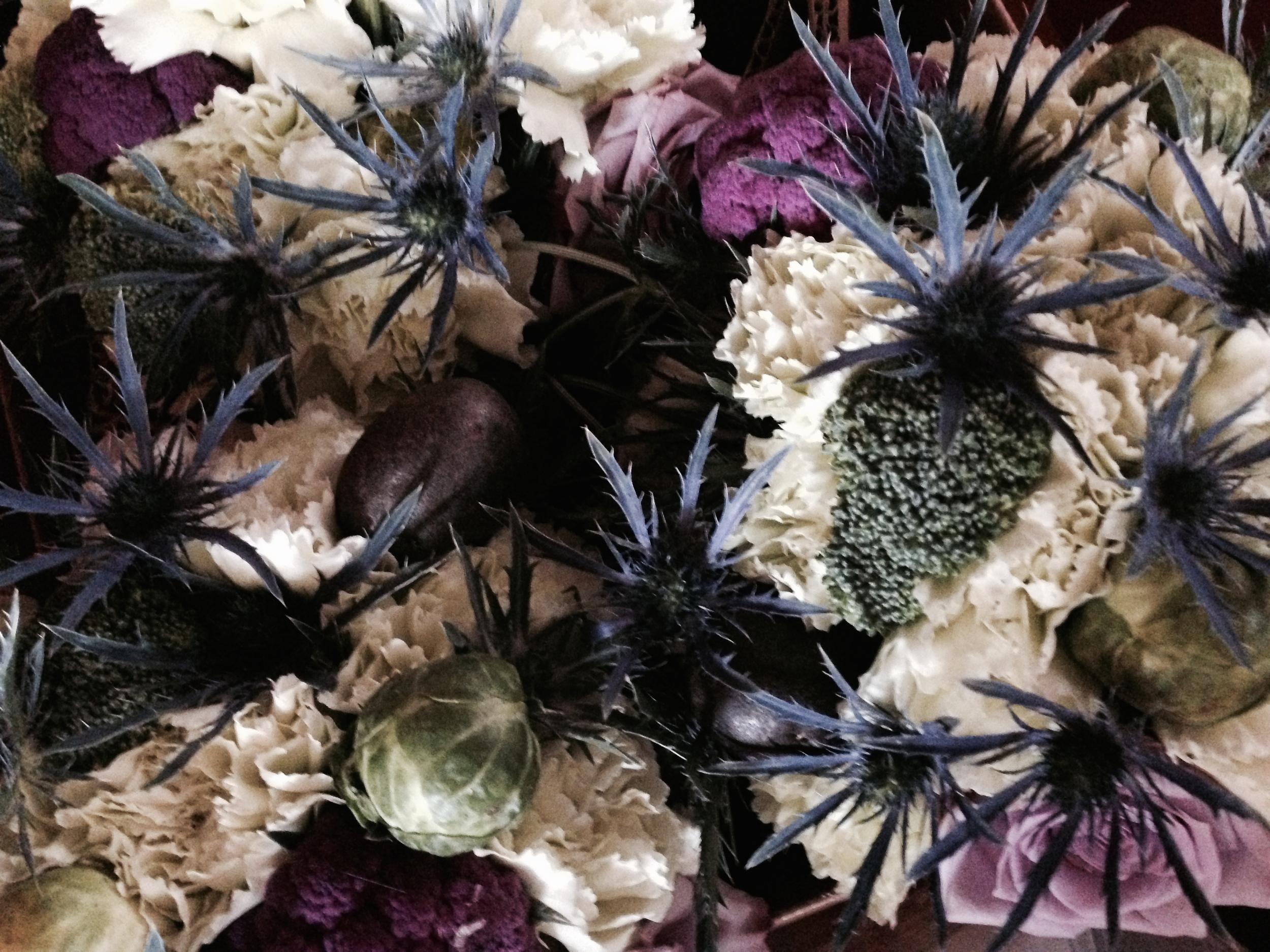 vegetable-centerpiece-organic-wedding