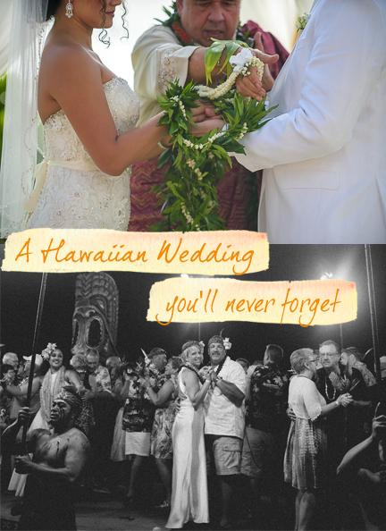 hawaii wedding luau