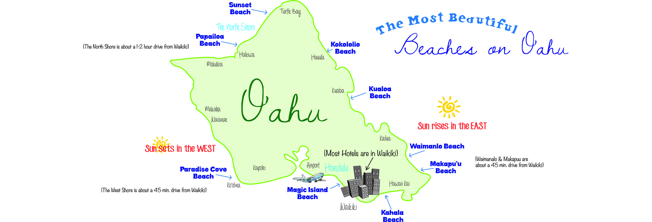 hawaii-beach-map