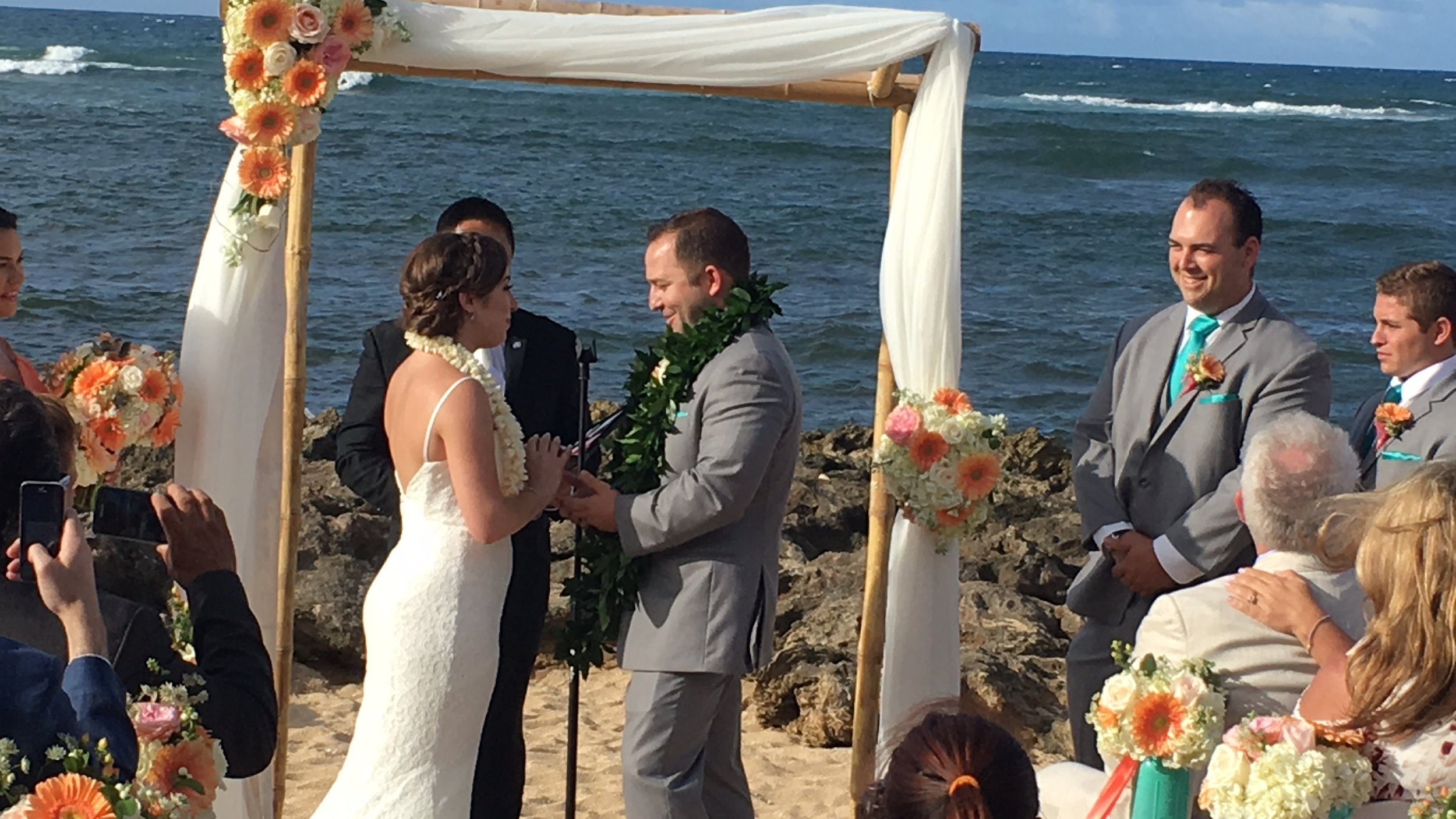 hawaii-turtle bay wedding