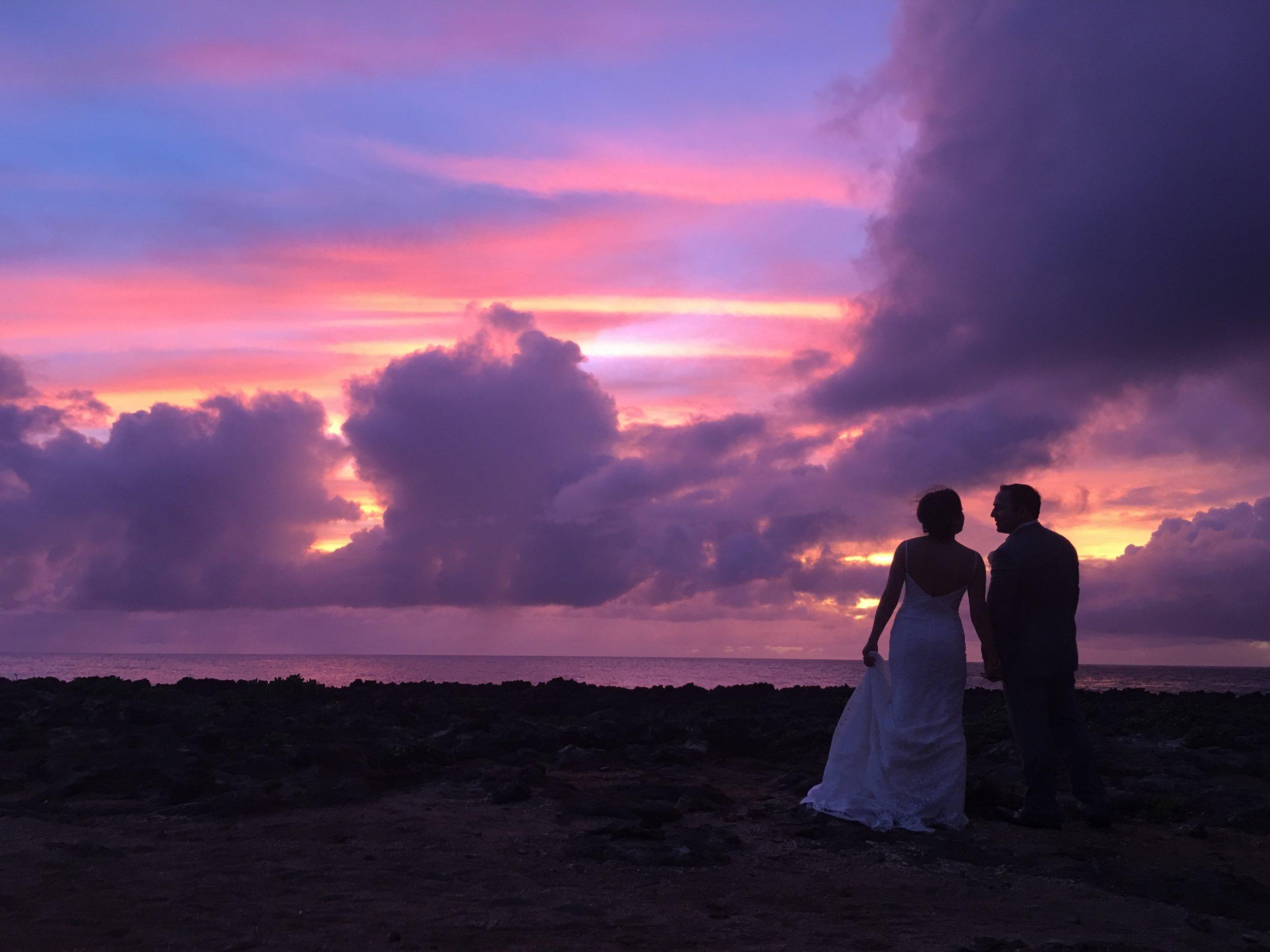 sunset-bride