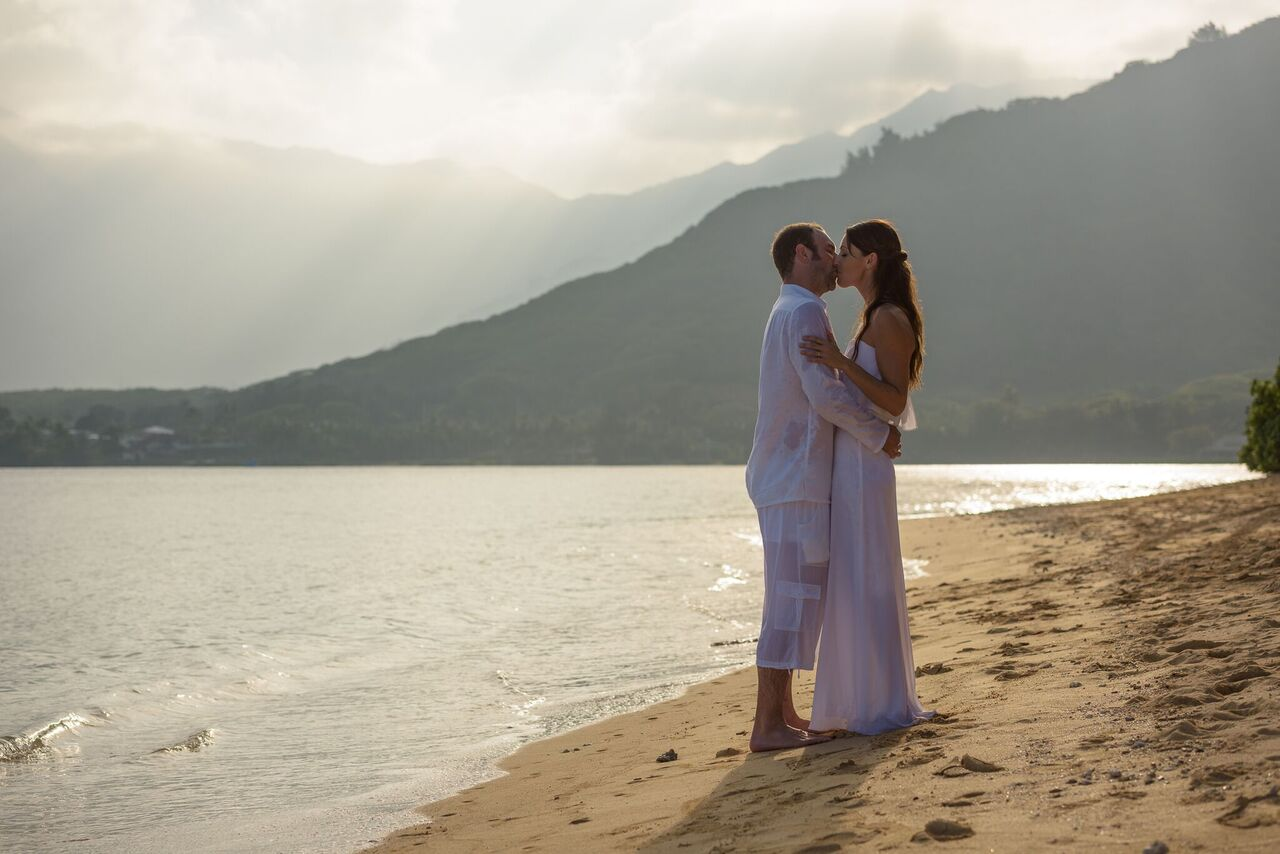 secret island hawaii wedding