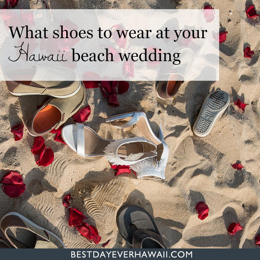 beach wedding? Hawaii style