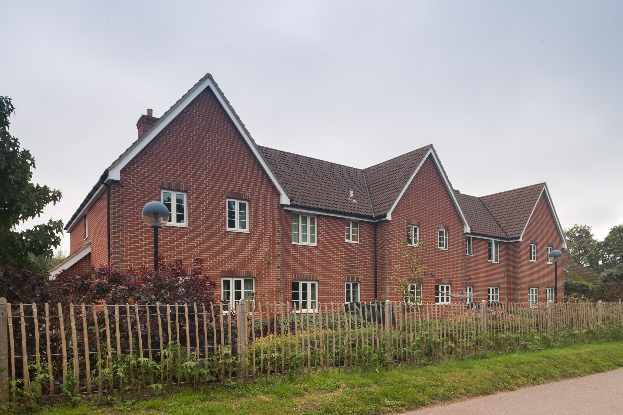 A mixed used development consisting of a church hall and ancillary accommodation for community events; office accommodation for the client, and residential flats.