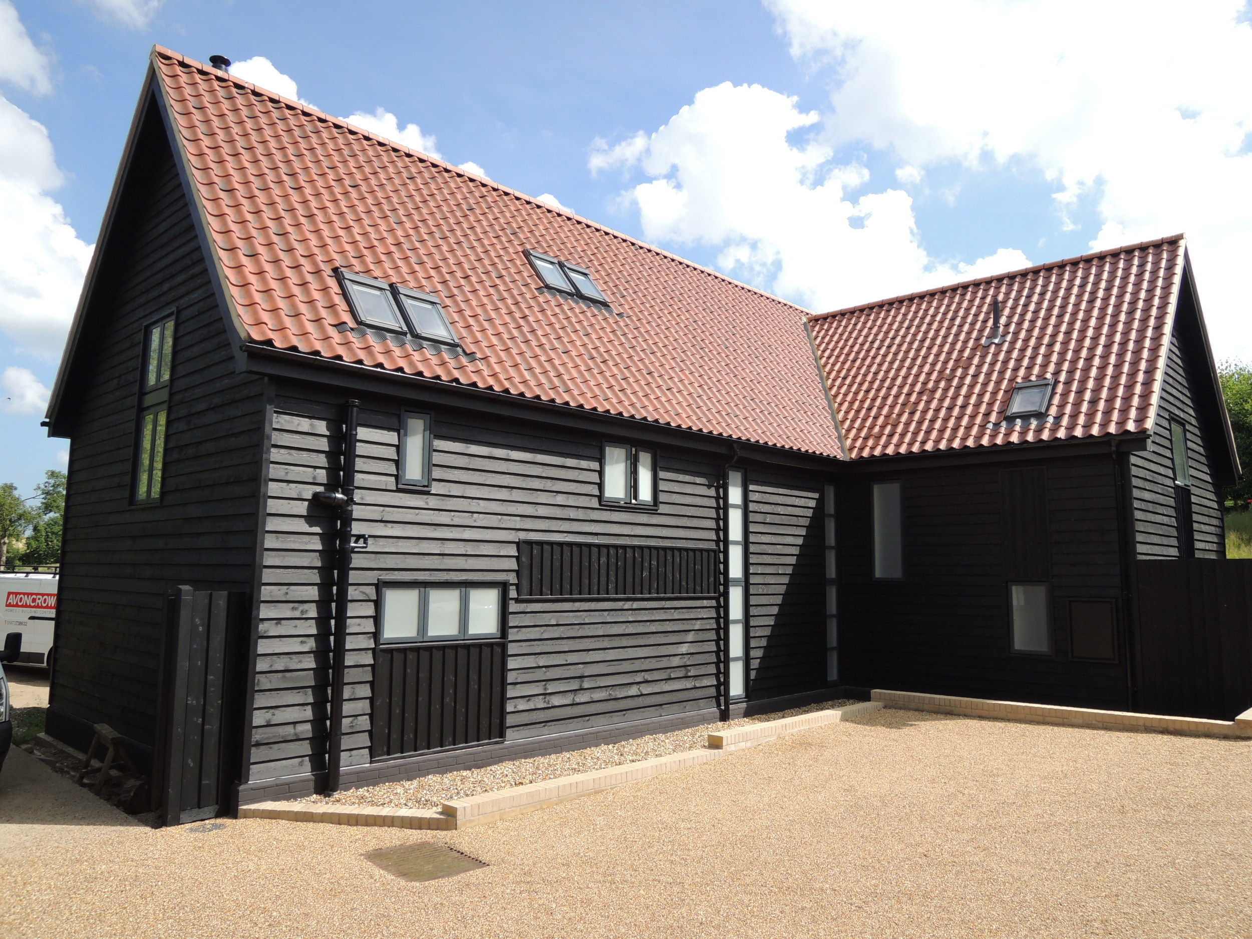 Midnight Mill  Conversion of existing barn to residential, Fressingfield