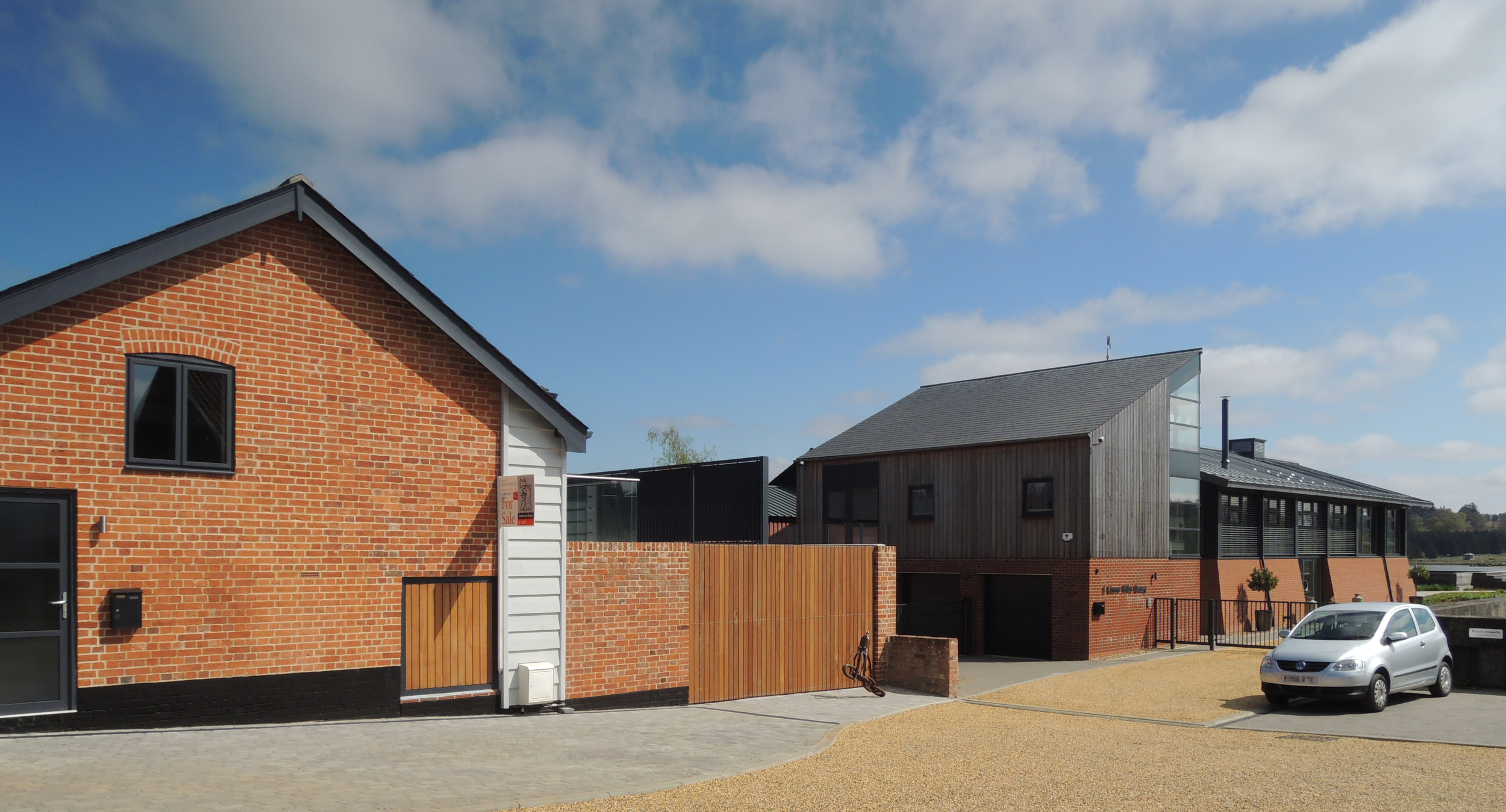 The Chandlery completes an attractive development of Lime Kiln Quay.  Address:  Former Chandlery, Lime Kiln Quay,Woodbridge   Client:  Omnicorp Ltd   Main Contractor:  Bridgewood Ltd