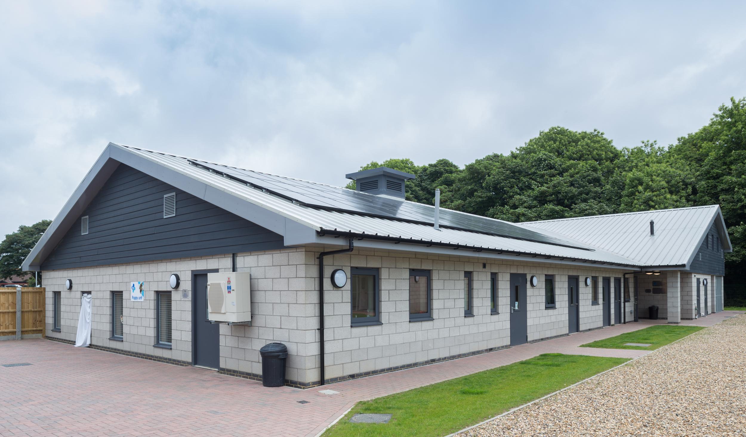 Client: Blue Cross   Structural Engineer: G C Robertson & Associates Ltd   Mechanical & Electrical: Bedwells   Quantity Surveyor: Gill Associates Ltd