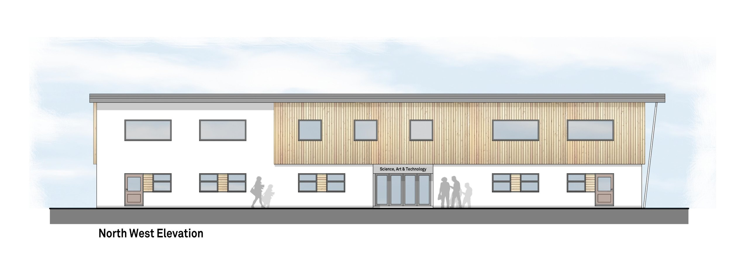 Science, Art & Technology Teaching Block  Finborough School, Great Finborough
