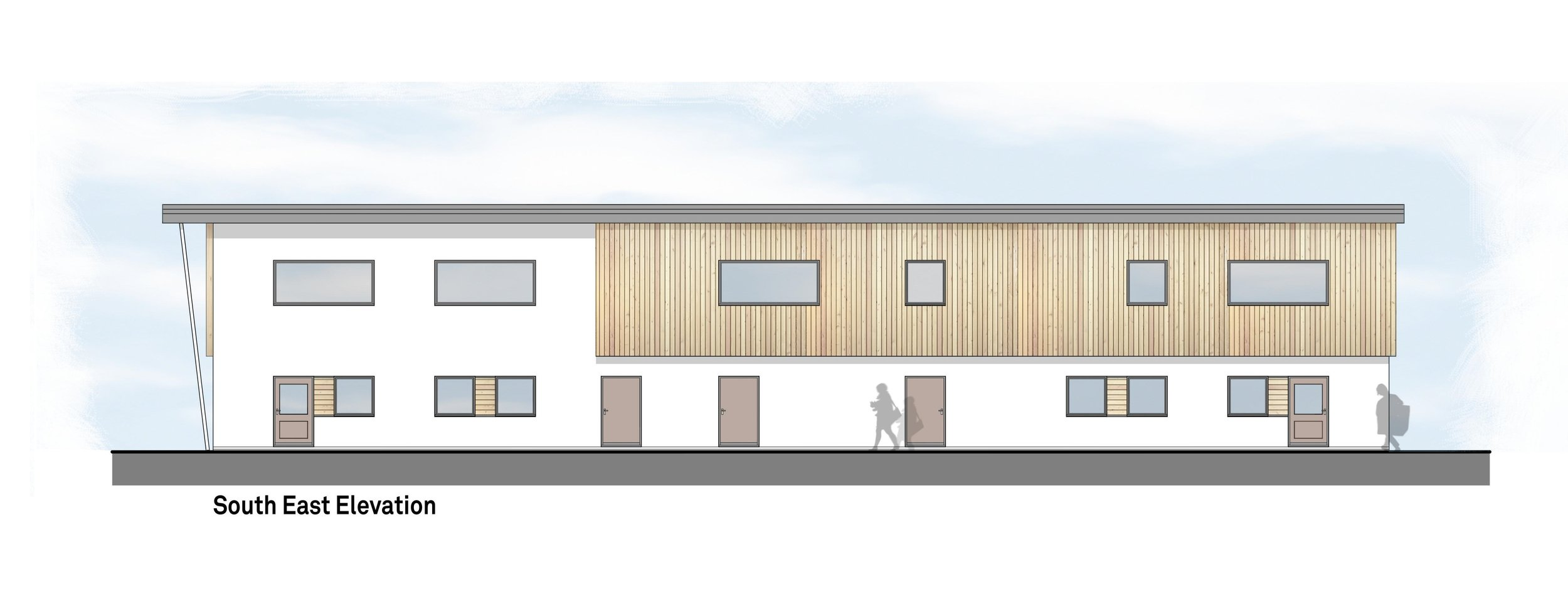 This proposal endeavours to provide some much needed additional teaching space at Finborough School. It will be purpose built and designed to suit the specific needs of the school, whilst also being flexible enough to adapt to its ever changing requirements going forward.