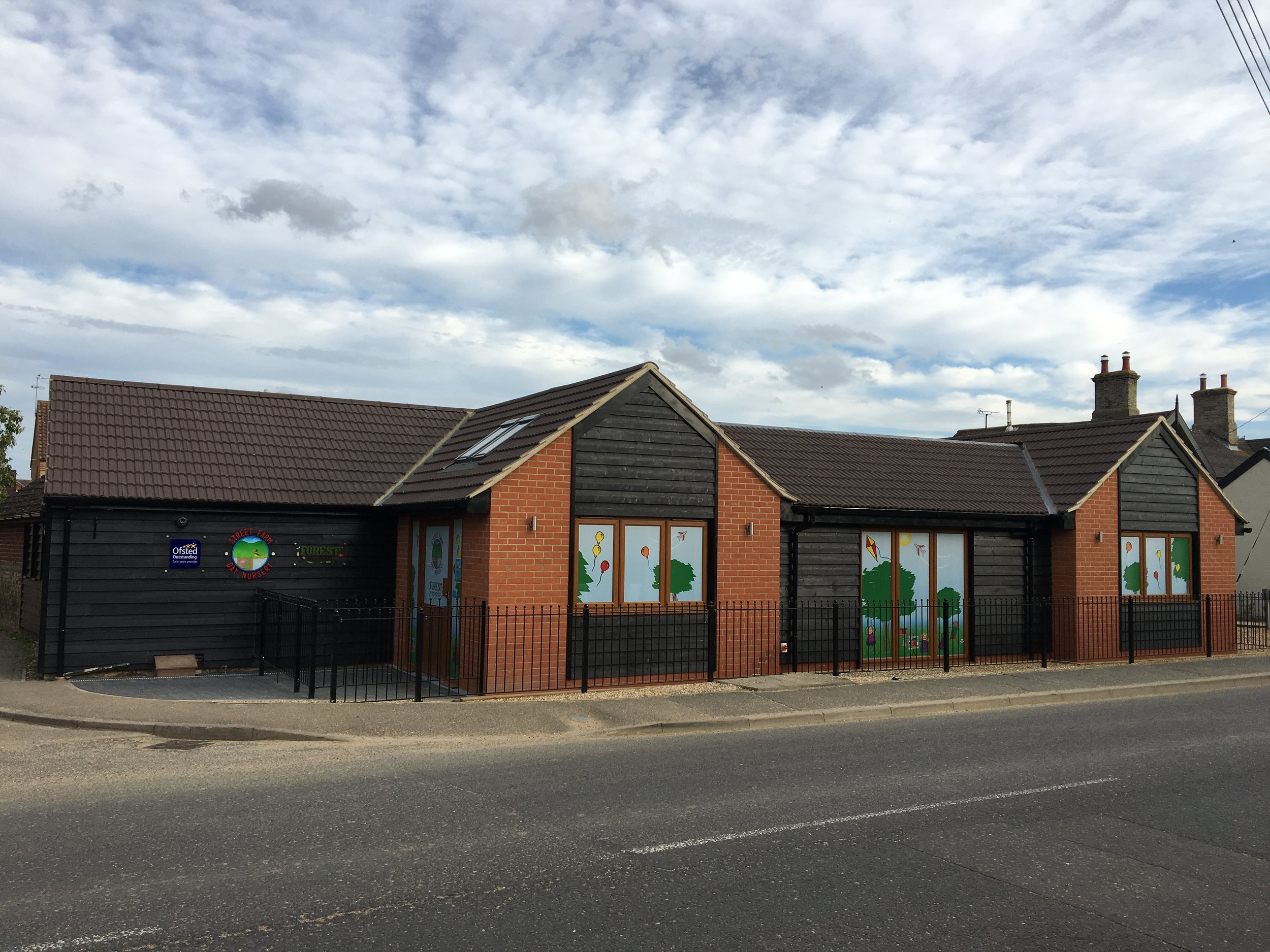 Patrick Allen & Associates are pleased to announce the projectof a single storey extension at the Street Farm Day Nursery in Elmswell has been successfully completed.