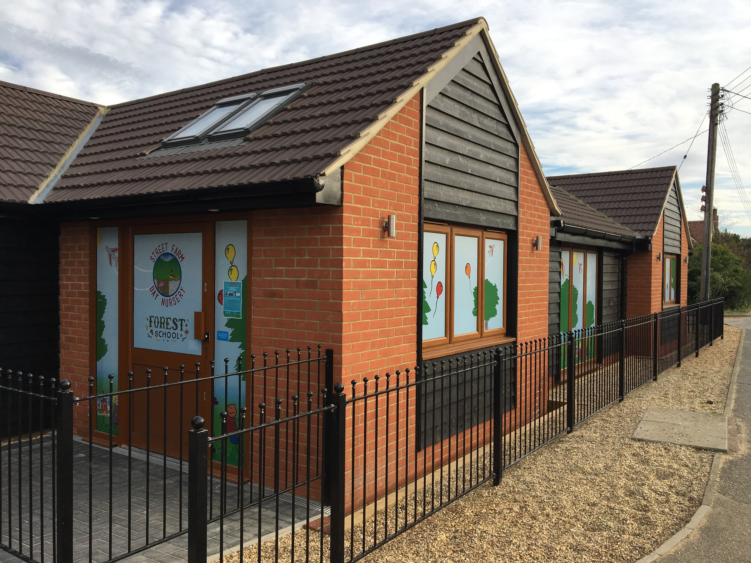 Address:  Station Road, Elmswell, Suffolk   Client:  Street Farm Day Nursery   Main Contractor : Maple Building Services