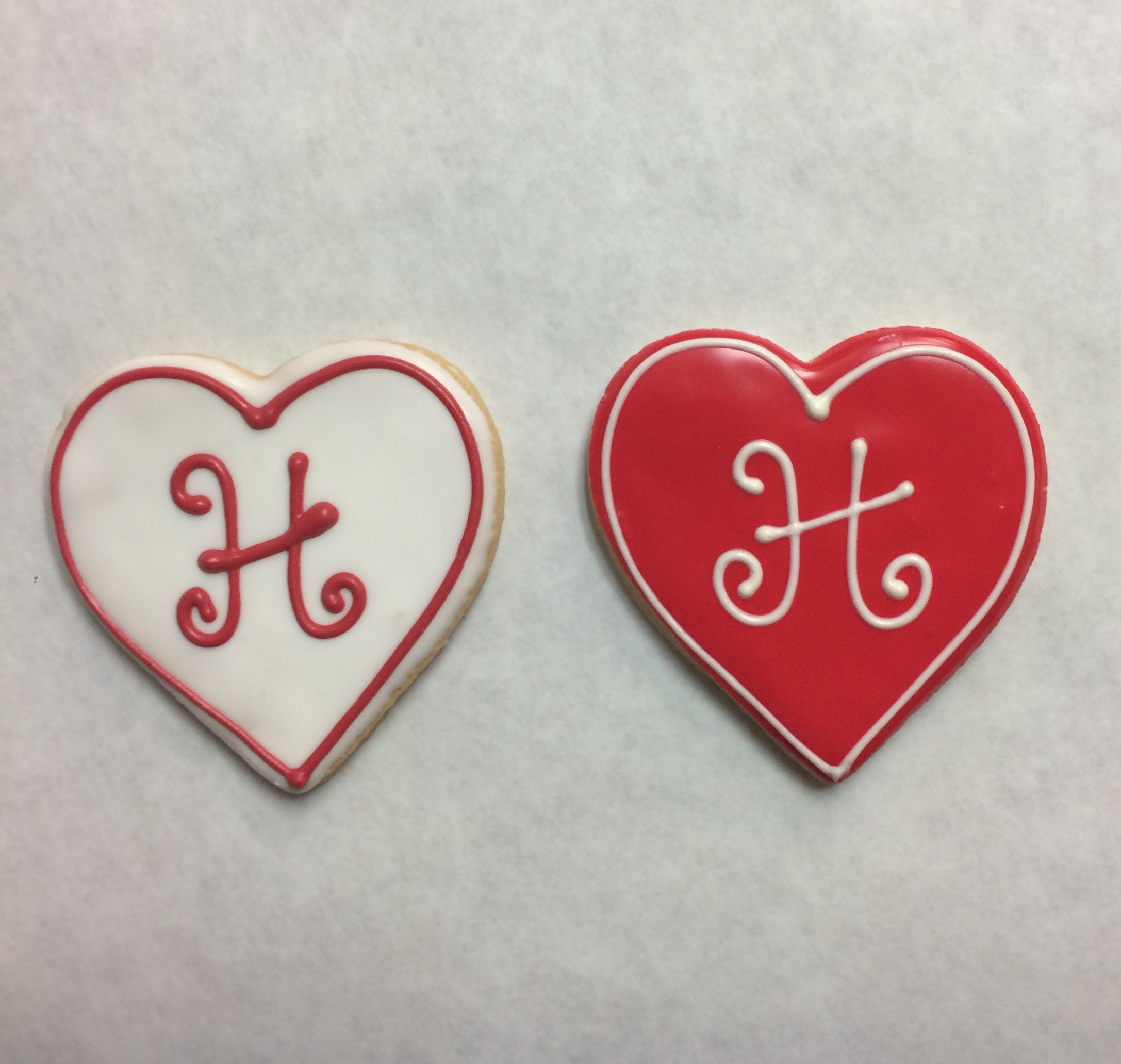 Heart with Monogram
