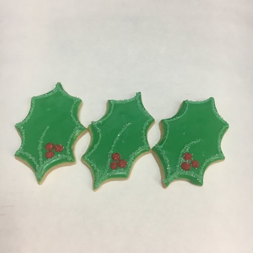Holiday Deco Cookies Christmas Three Tarts Bakery And Cafe