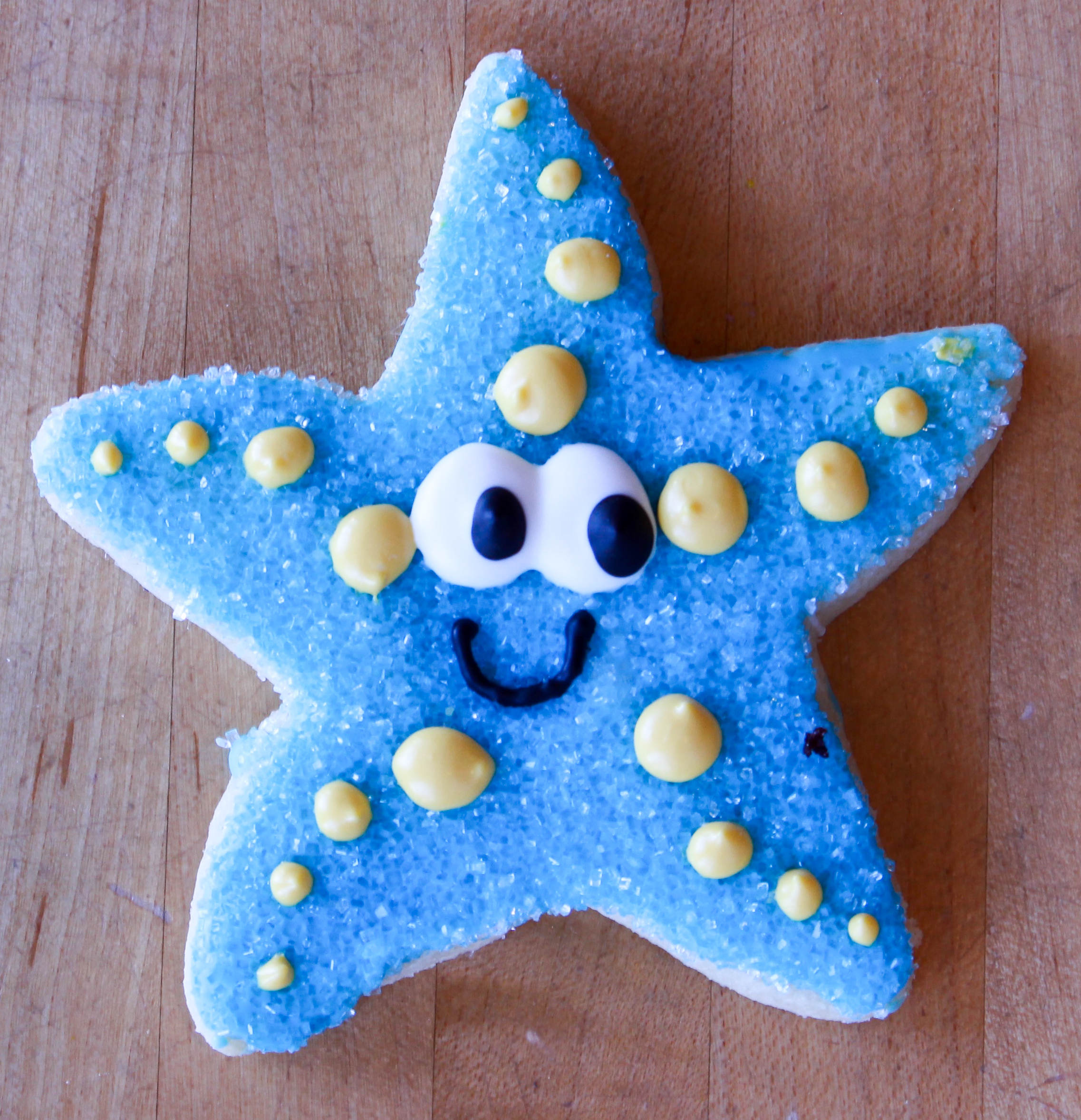 Sea Star in blue
