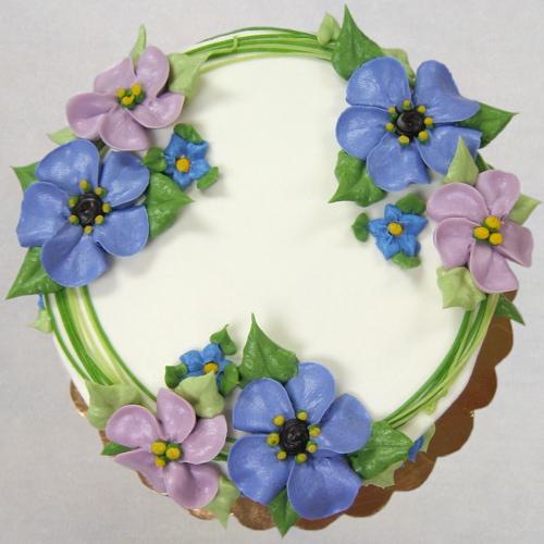 Floral Cluster in spring colors