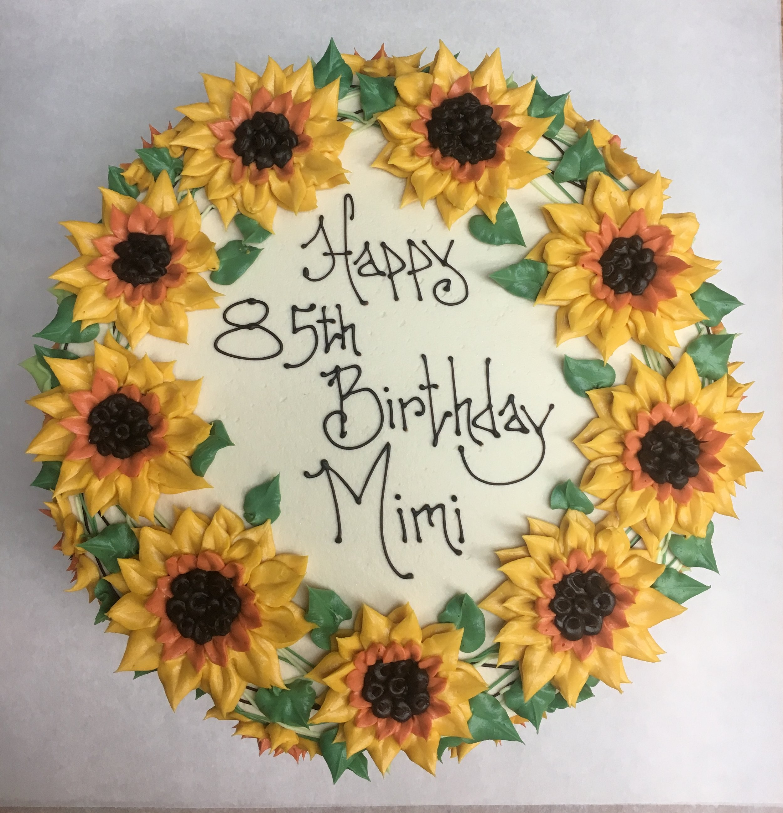 Sunflower Wreath | mimi