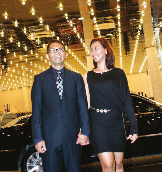 Raymund and Ann Tanalgo get treated to a weekend on the town in Toronto.