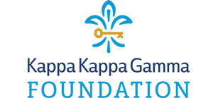 KAPPA KAPPA GAMMA FOUNDATION , which provides educational scholarships for undergraduate and graduate women and focuses on preserving Kappa history. The Foundation in 2012 and 2014 recognized the Kansas City Kappa Alumnae Association for the highest level of giving to the Foundation.