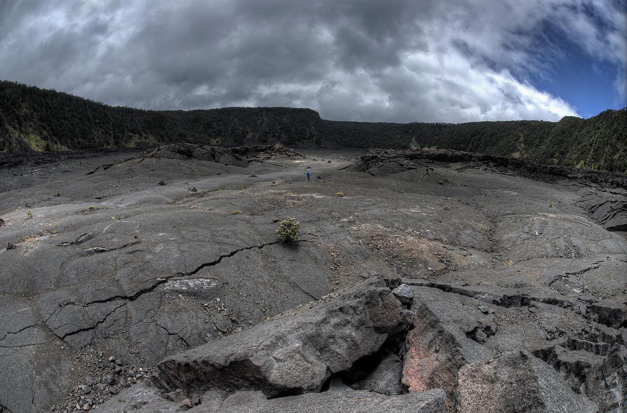 Kilauea Iki Crater Flow