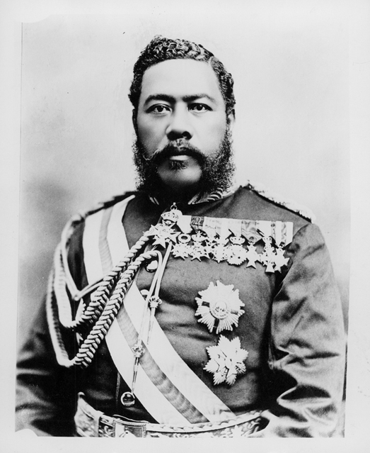 """""""Kalakaua (PP-96-11-001)"""" by not given - Hawaii State Archives. Call Number: PP-96-11-001."""