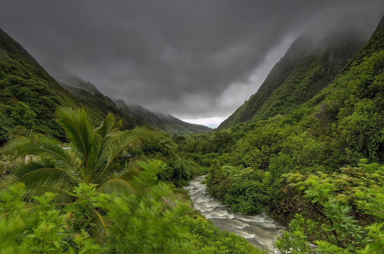 Iao Valley on the island of Maui. From our 2013 trip