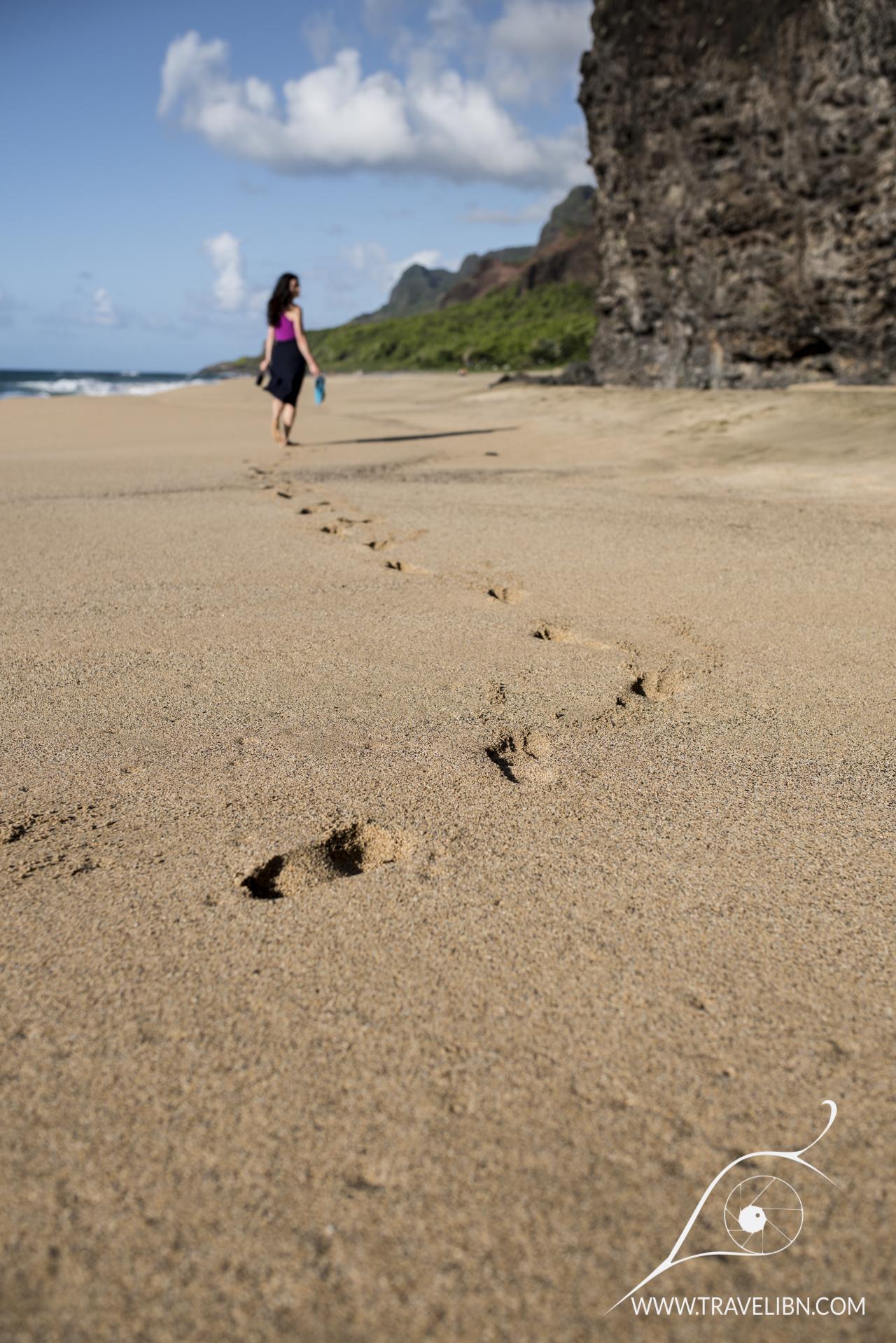 Kalalau Beach Sand