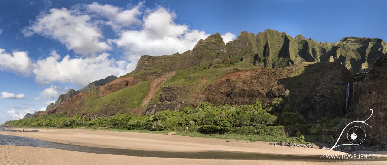 Kalalau Beach Panorama