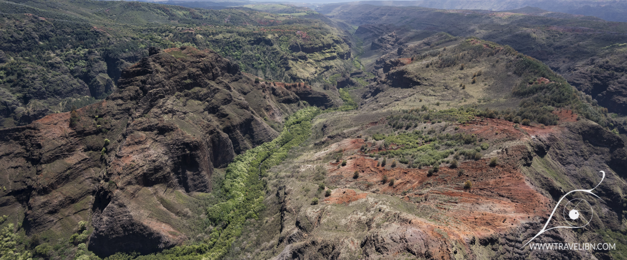 Waimea Canyon from above