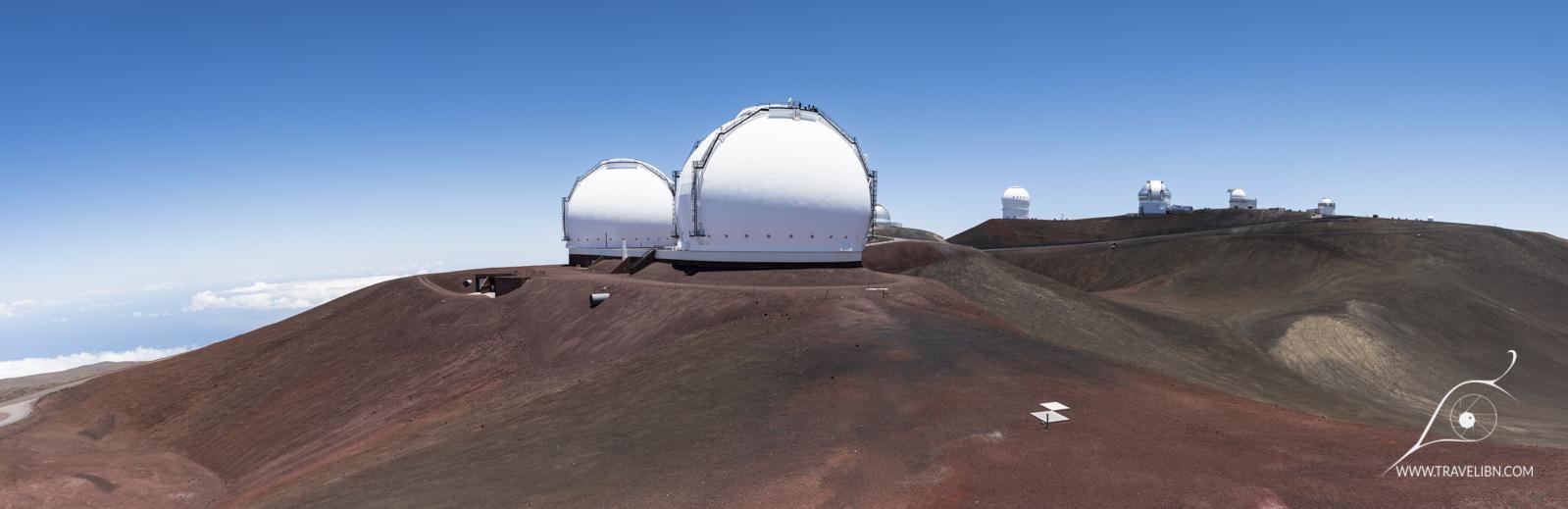 View from Subaru Telescope