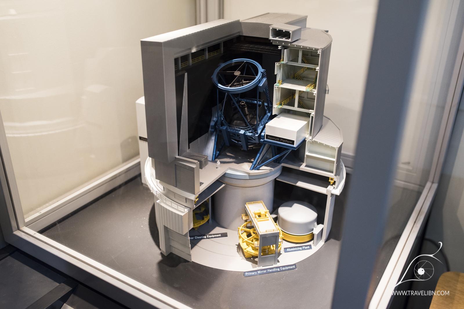 A model of the Subaru Telescope