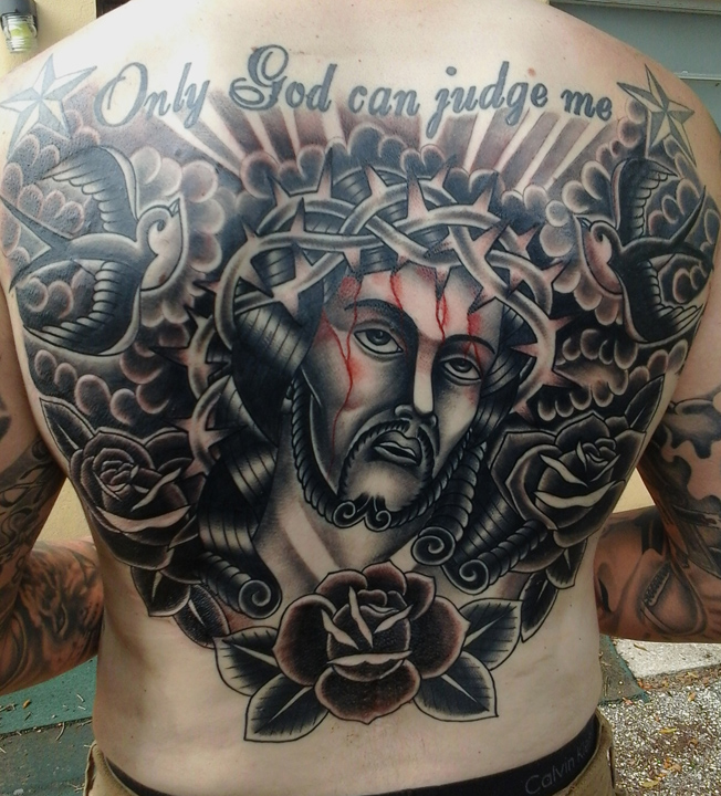 Bobby Williams Rise Above Tattoo