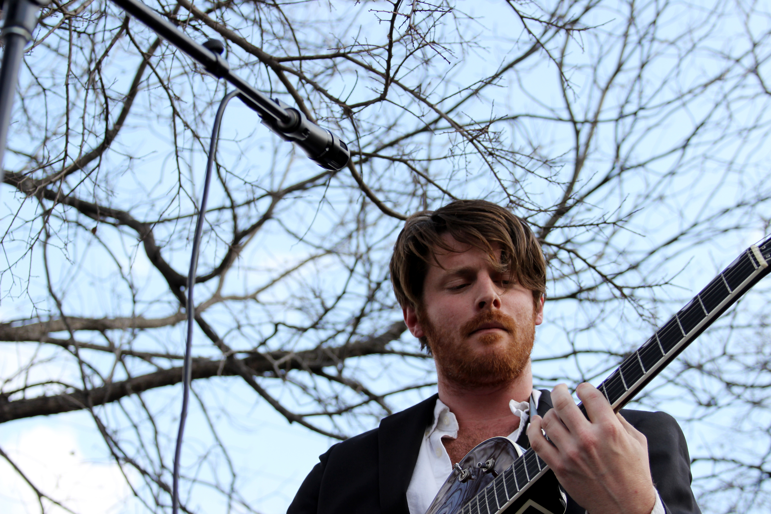Walker Lukens at the French Legation Museum.  Photo by Tess Cagle