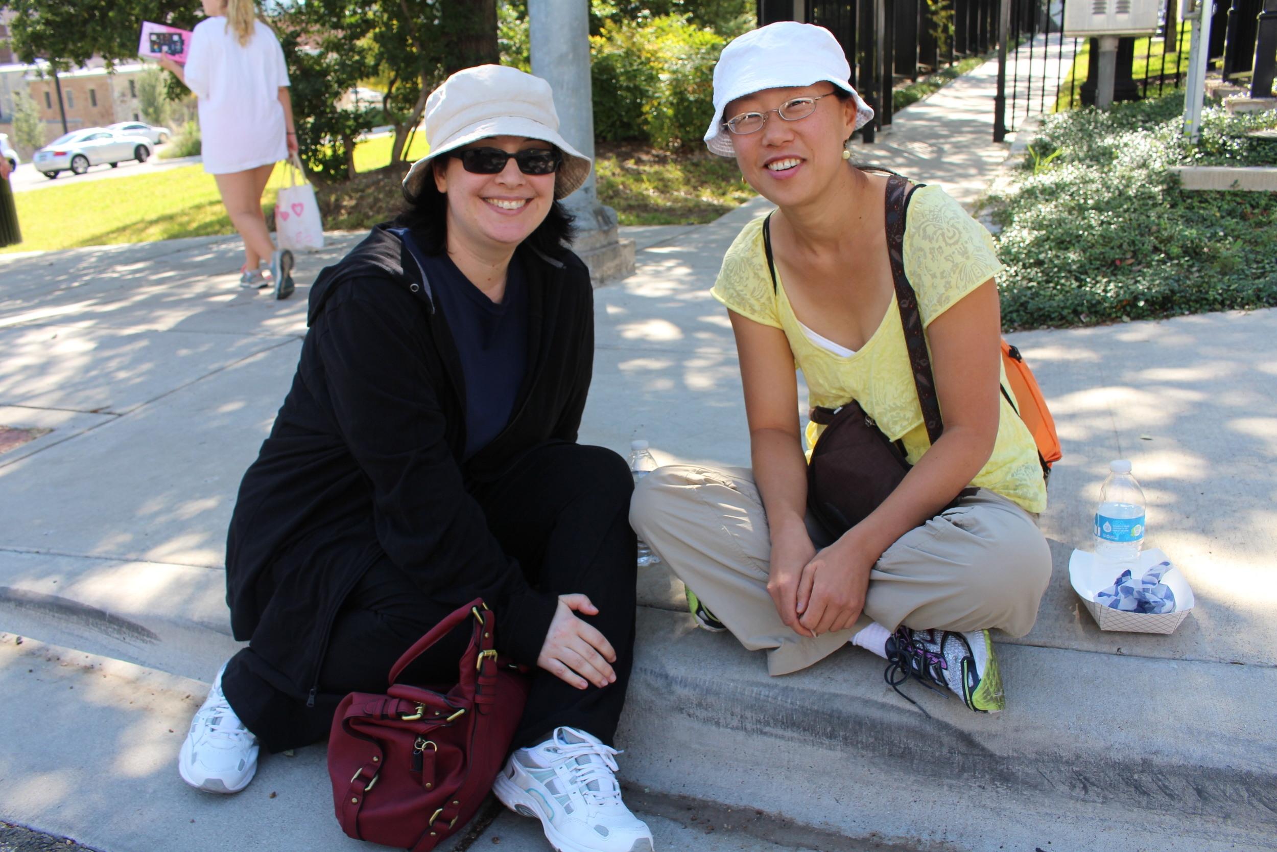 Dana and Caroline