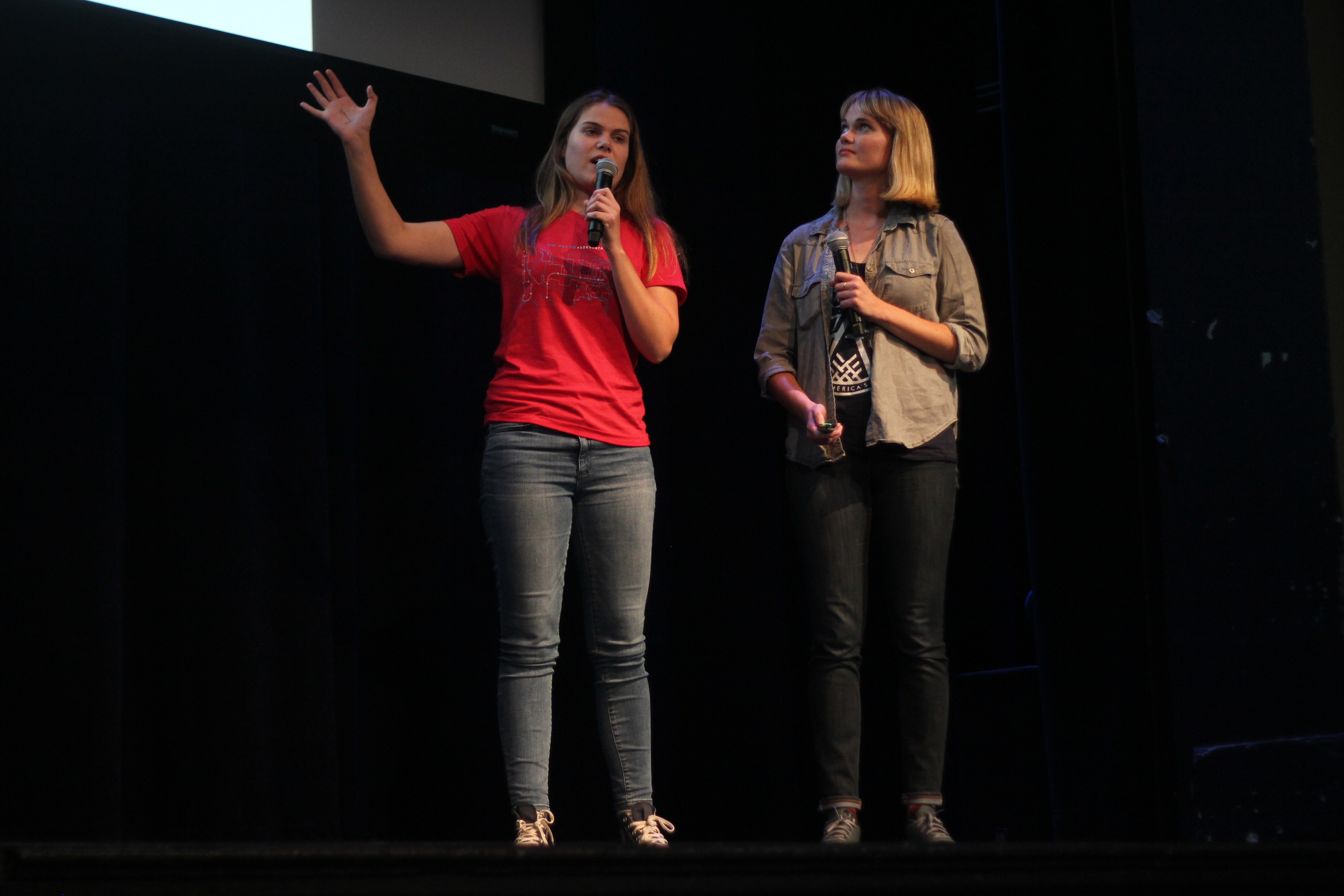 Sisters Sam and Alex Kimura. Sam is currently searching to find her match to receive a bone marrow transplant.