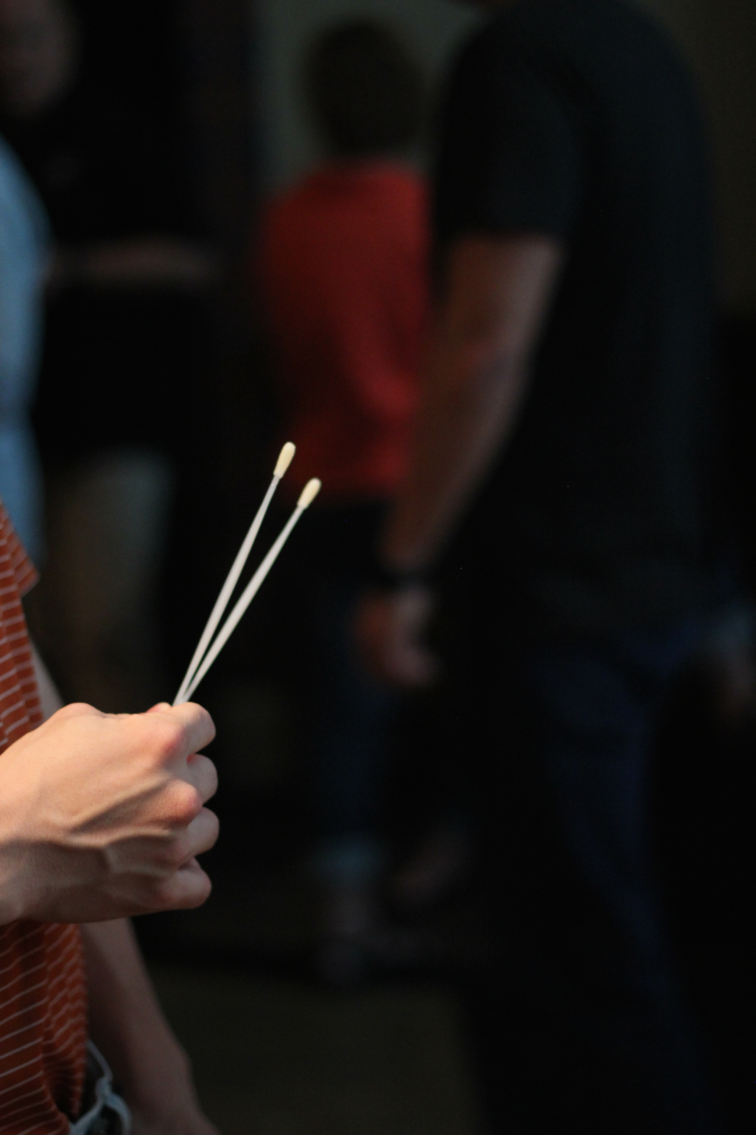 A simple cotton swap test is used to find matches for bone marrow donors.