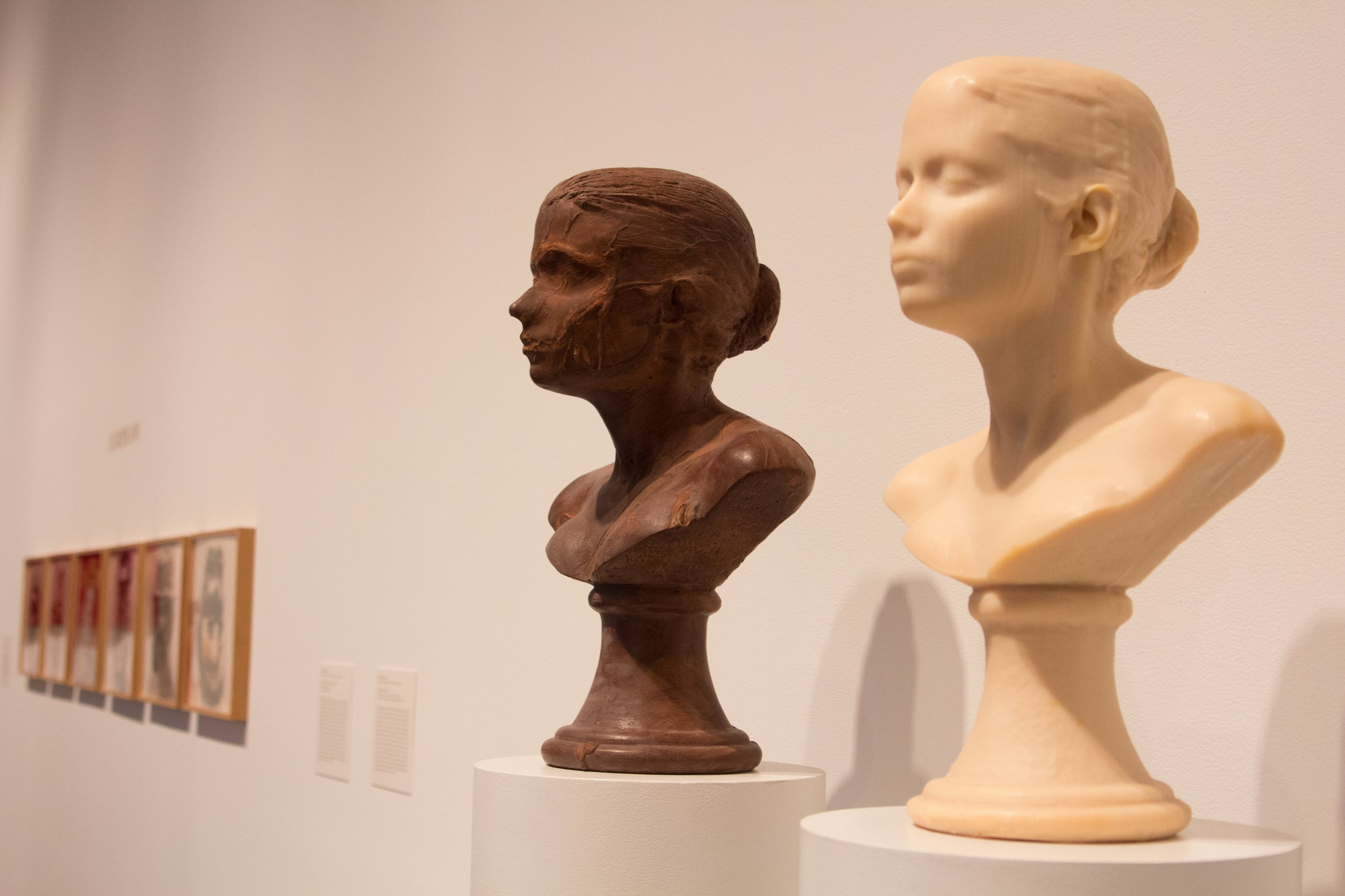 """""""Lick and Lather,"""" self-portraits by Janine Antoni"""