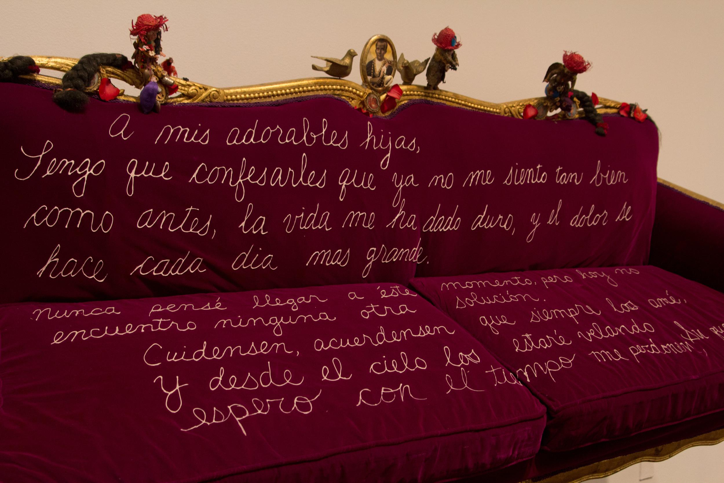 """""""A Mis Adorables Hijas"""" by Pepón Osorio"""