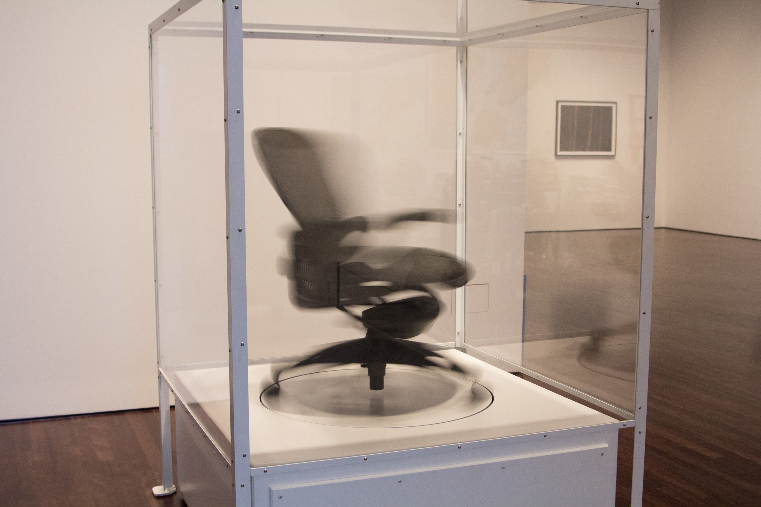 """""""The Siege Perilous,"""" a spinning chair installation by Glenn Kaino"""