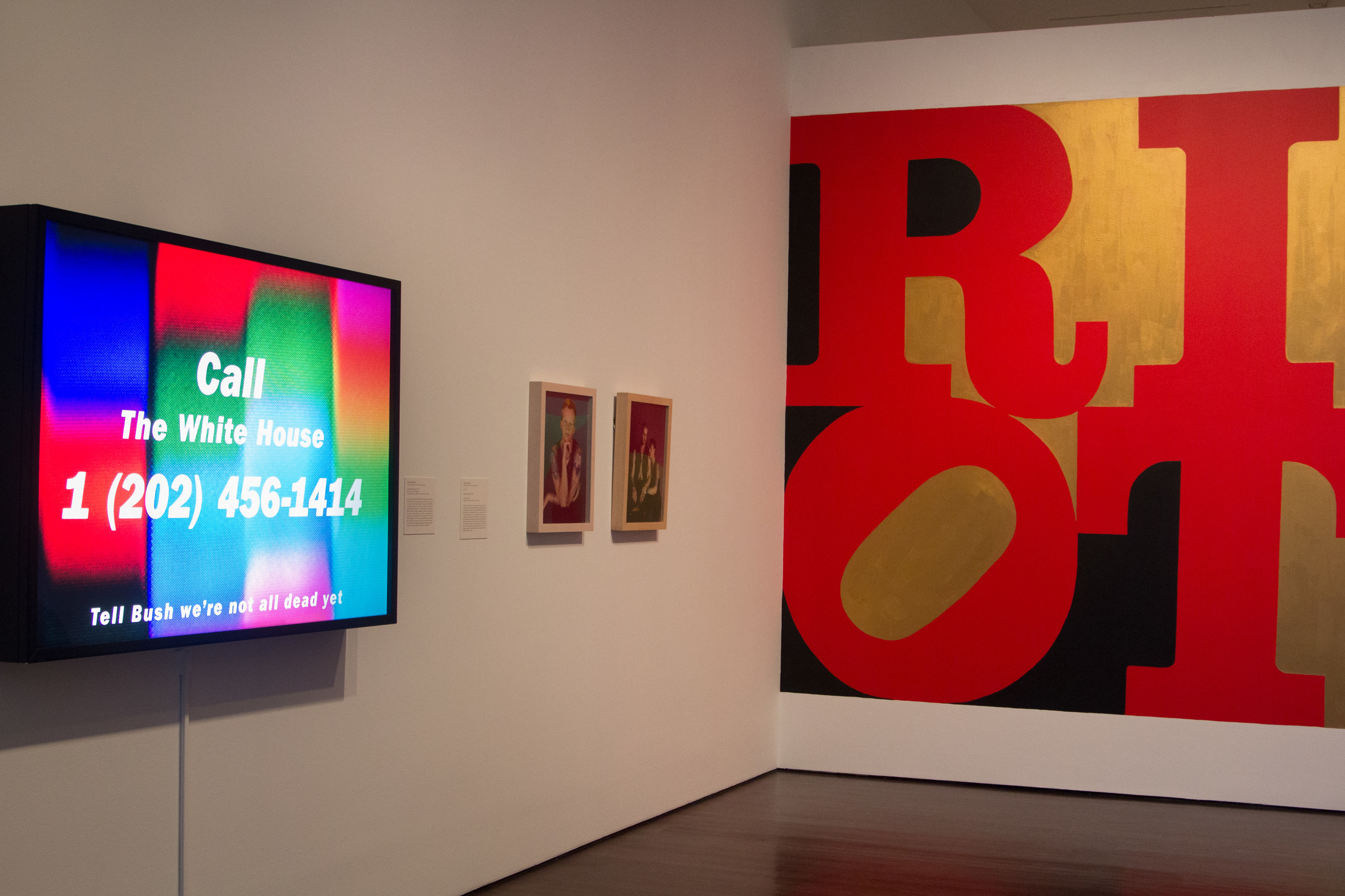 """""""Come As You Are"""" exhibits art from 1989 to 2001."""
