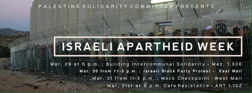 Photo courtesy of the Palestinian Solidarity Committee.