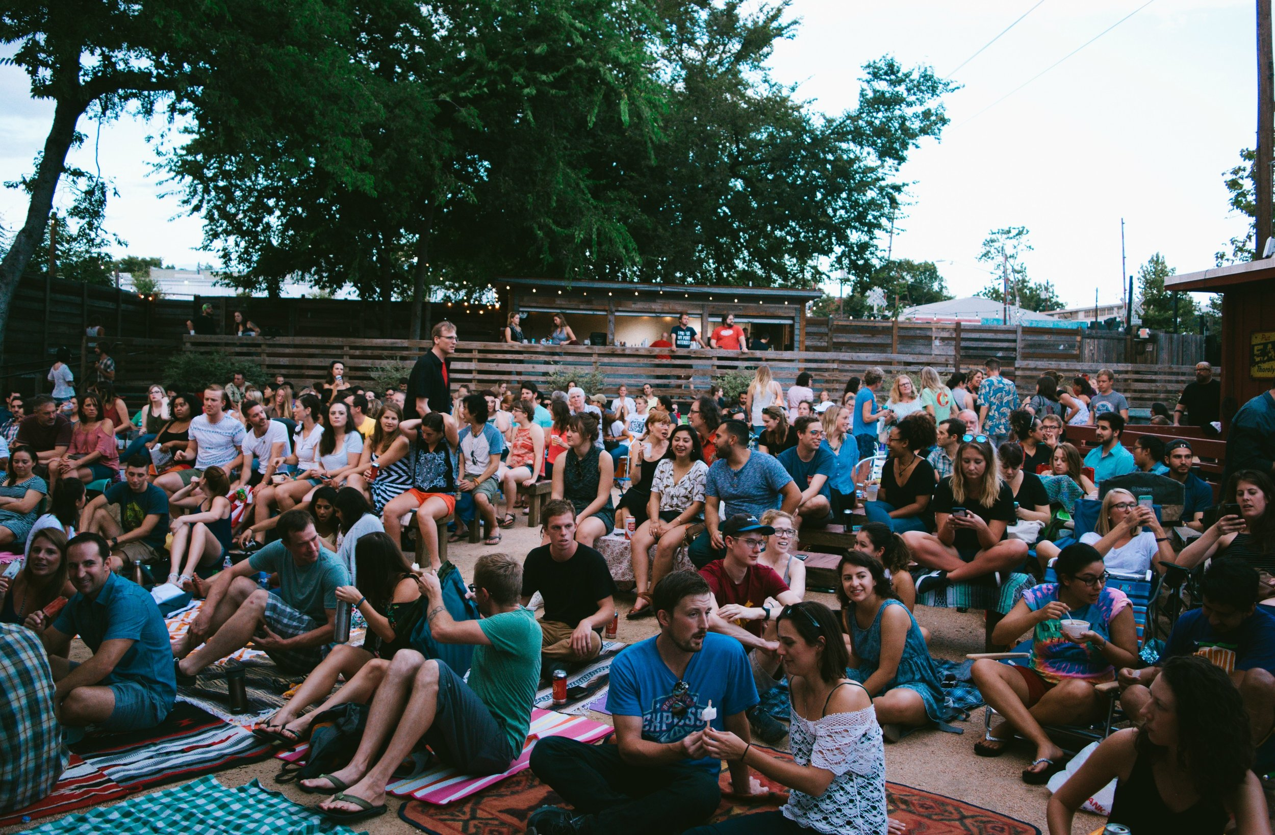 The next Backyard Story Night will be on Sunday, Oct. 16 at 8 p.m. at the Historic Scoot Inn in East Austin.