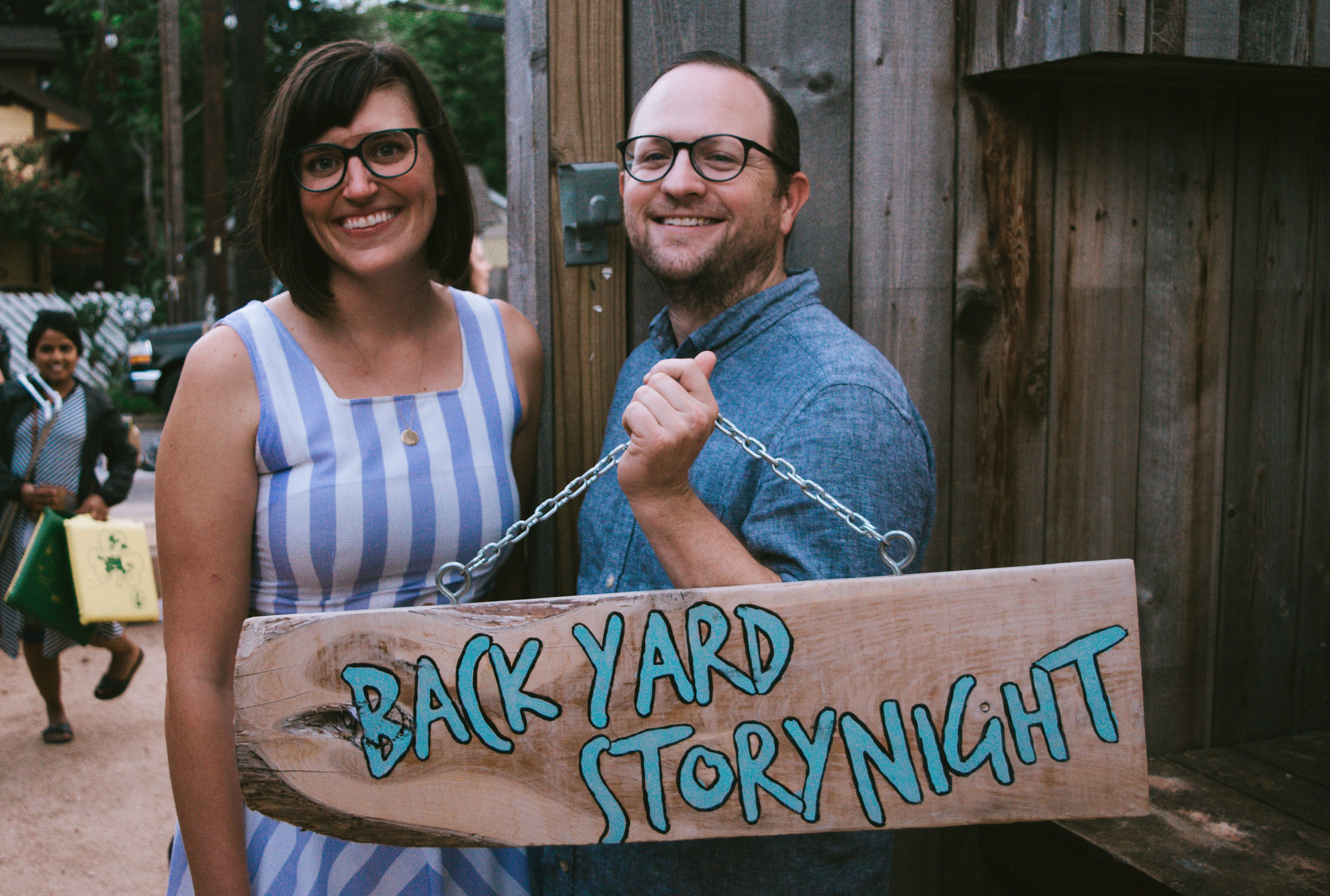 Backyard Story Night: Alter Ego took place on Aug. 28 at the Historic Scoot Inn in East Austin.