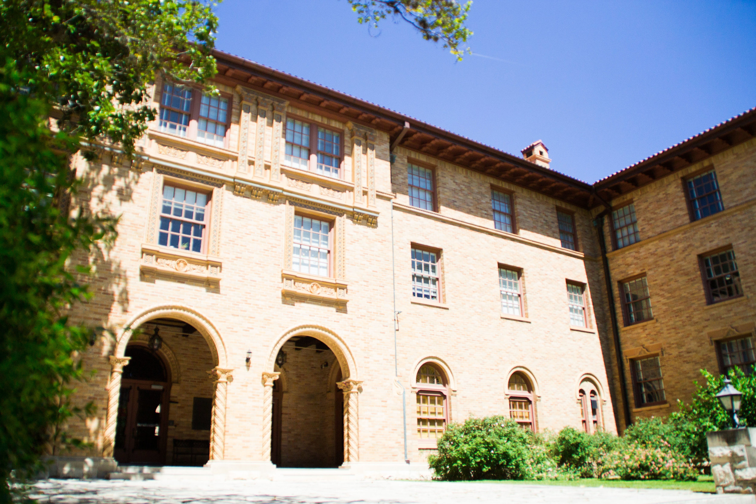 Littlefield Dormitory is located in the Whitis Area Community and is UT's oldest residence hall.