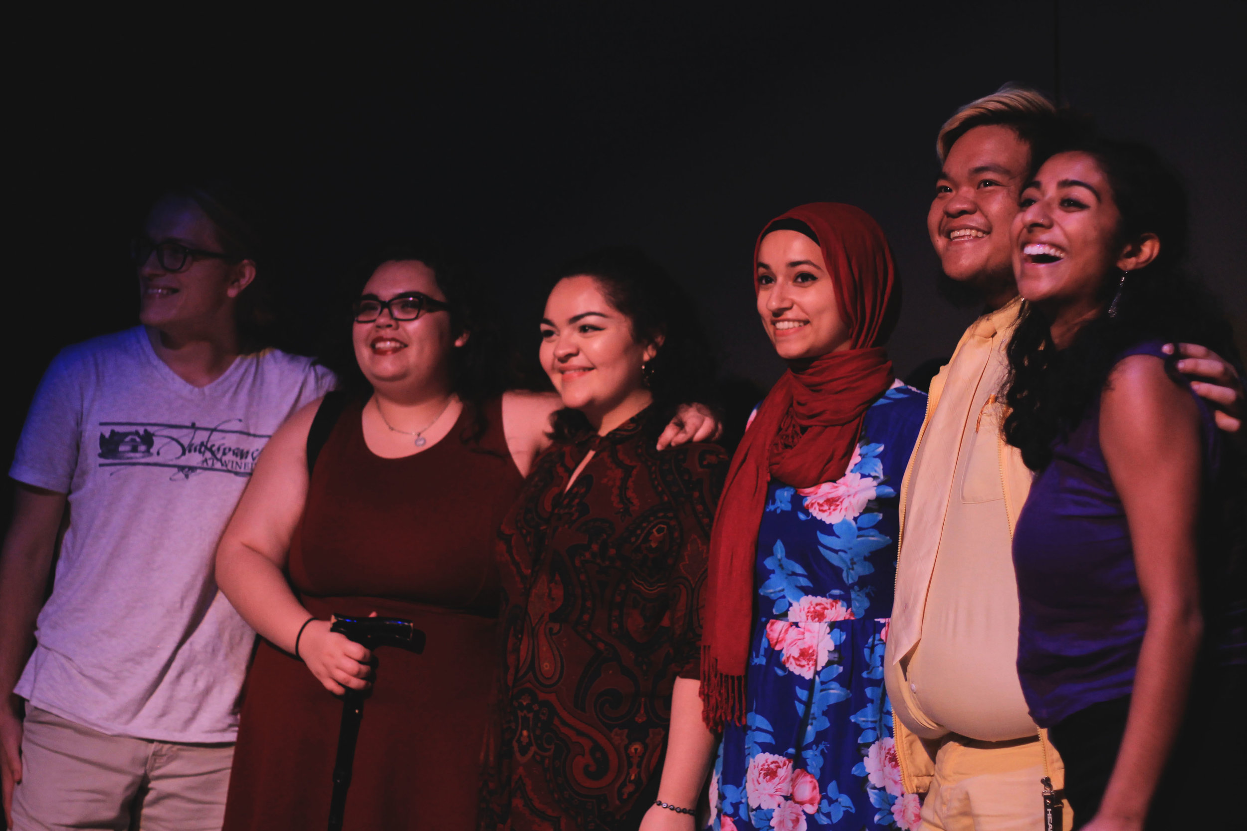 Asa Johnson, Jasmine Bell, Bianca Perez, Noor Wadi and Philip Oh are the five Spitshine contestants who will be representing UT at CUPSI in Chicago in April.