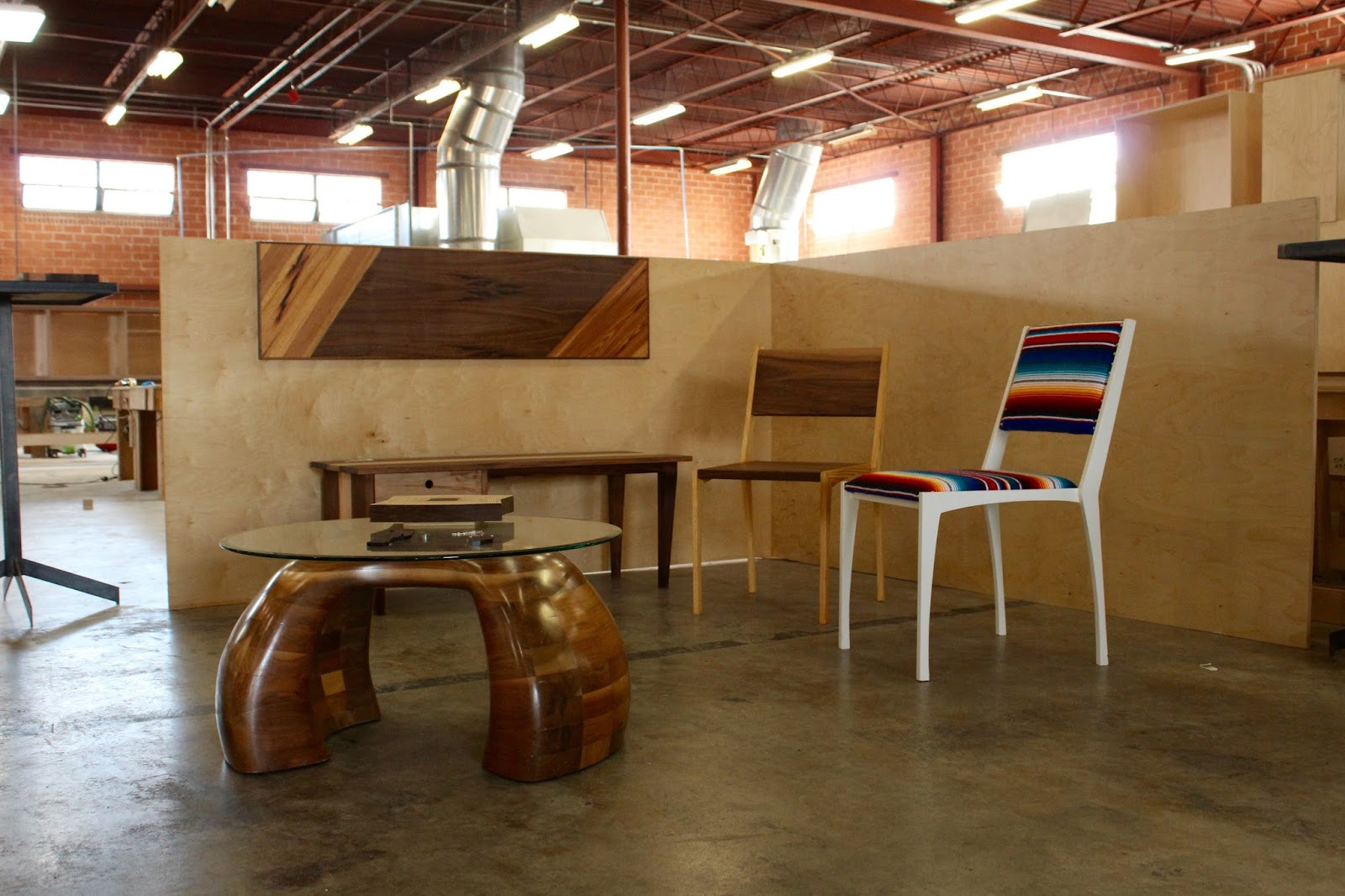 Artists are free to use the warehouse in their free time to make their own creative pieces.