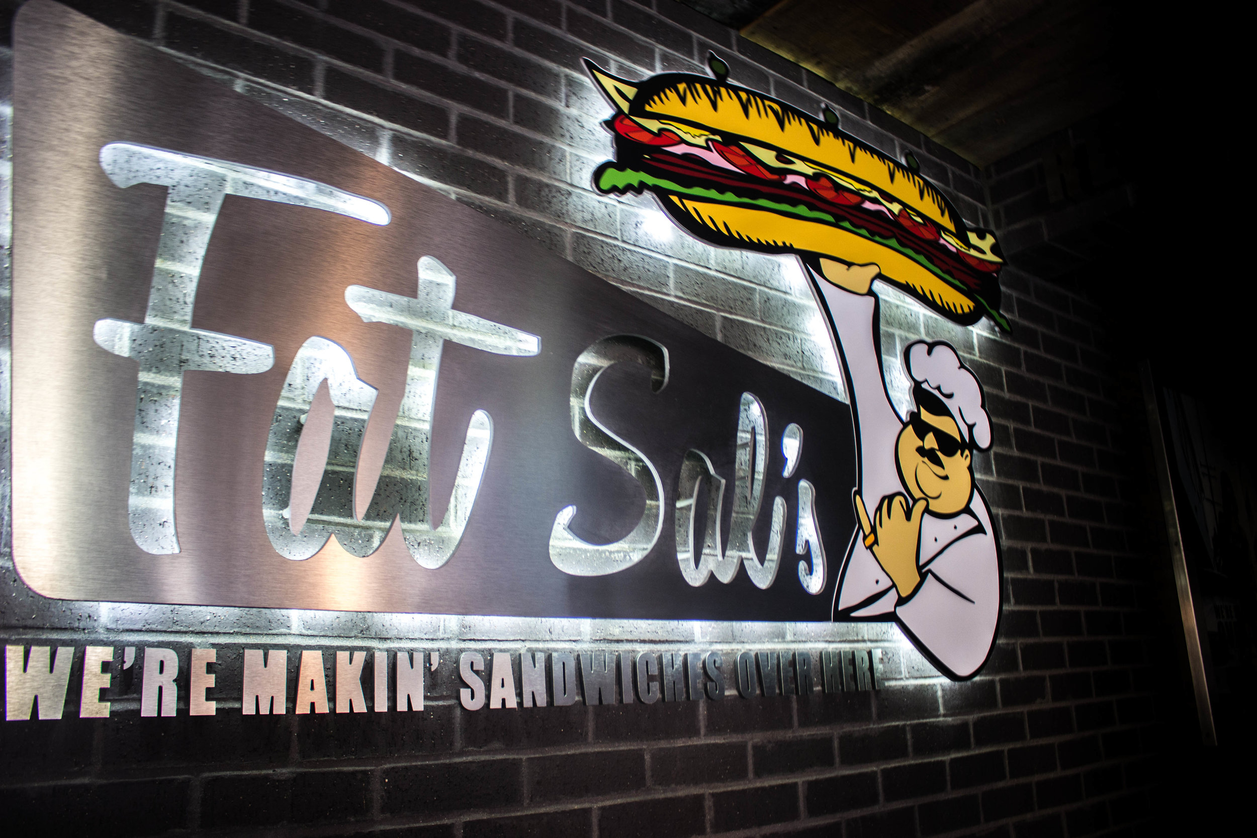Fat Sal's is located near the corner of 26th St. and Guadalupe St.
