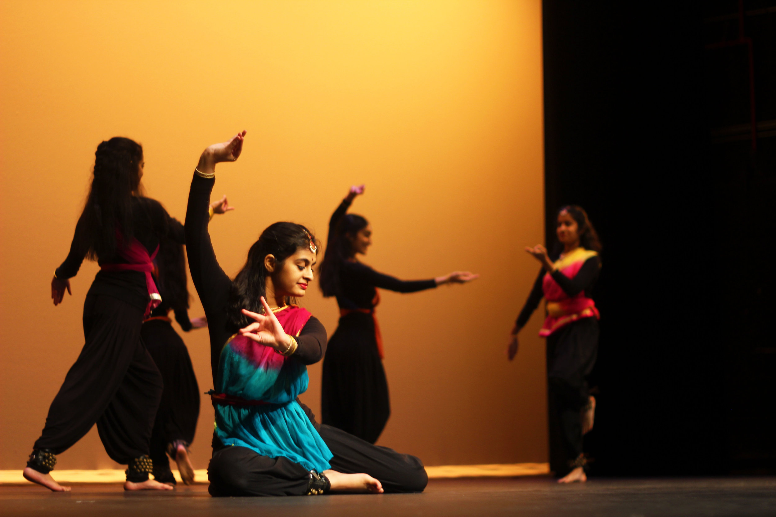 All-girl dance group, Zohba, performs to Pakistani instrumental music