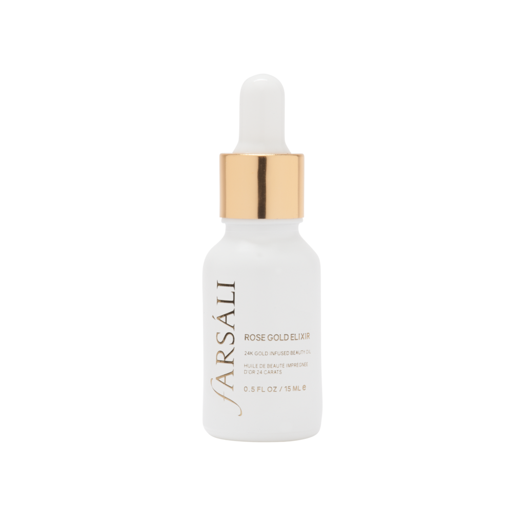 Farsali Rose Gold Elixir - East African Indian beauty blogger, Farah Dhukai, and her husband are behind the creation of the Farsali skin care brand, which seeks to use natural oils that are anti-inflammatory, antimicrobial and antioxidant rich. This beauty oil is infused with 24k gold flakes and contains a rosehip seed oil base.