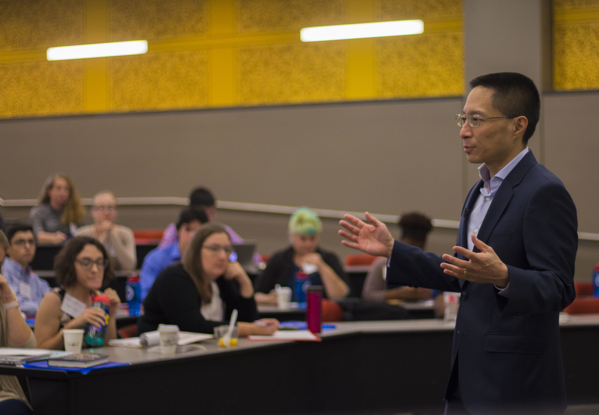 """Eric Liu, keynote speaker, is the author of """"You're More Powerful than You Think: A Citizen's Guide to Making Change Happen."""""""